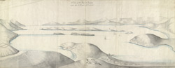 A View of the Bay of Bantry upon the S.W. part of Ireland 38.a